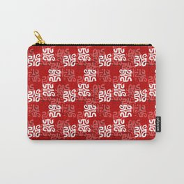 Swanky Mo Red Carry-All Pouch