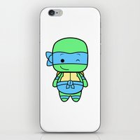 leonardo iPhone & iPod Skins featuring Leonardo by broflo