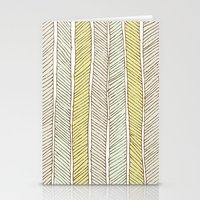 herringbone Stationery Cards featuring herringbone by wit & whistle