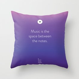 Acorn Music Studios Tote Throw Pillow