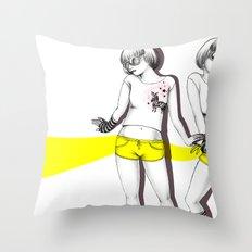 Twopose Throw Pillow