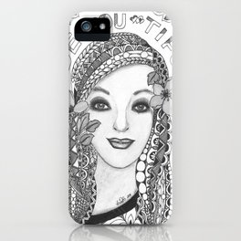 be.you.tiful iPhone Case