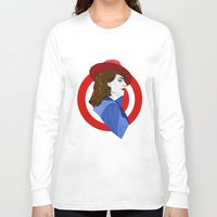 agent carter Long Sleeve T-shirts featuring Agent Carter by fabulosaurus