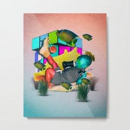 DAWSON SHELL Metal Print