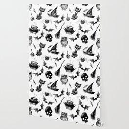 Halloween pattern design Wallpaper