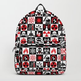 Hazard Danger Icons Backpack