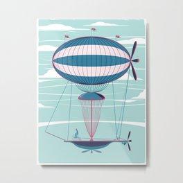 Sky Cycle Metal Print