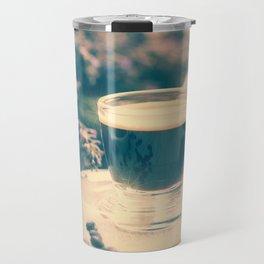 Coffee break in the Lavender Time Travel Mug