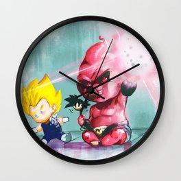 baby buu Wall Clock