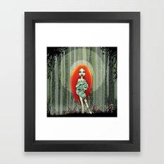 Forest fairey Framed Art Print