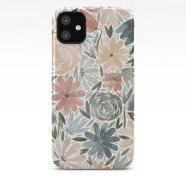 Florals & Foliage (Balloon Florals) iPhone Case