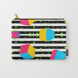 Colorful cubes 80's Carry-All Pouch