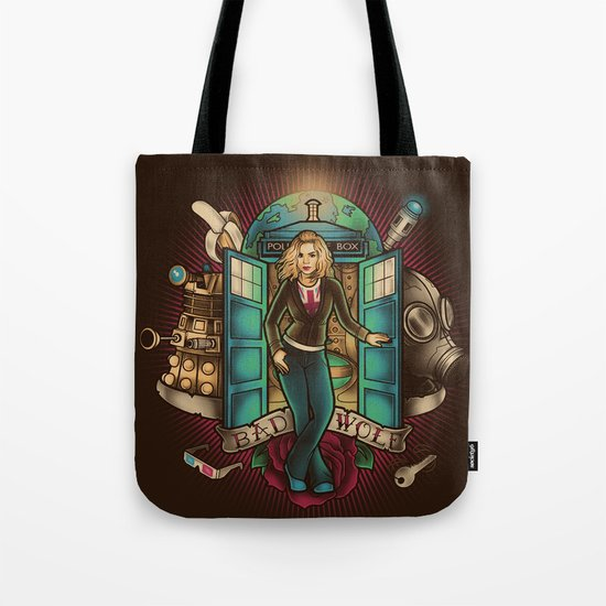 I am the Bad Wolf Tote Bag