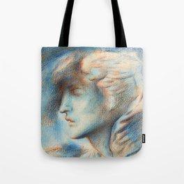 "Simeon Solomon ""Dawn (Head of Hypnos)"" Tote Bag"