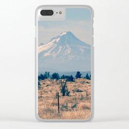 High Desert Haze Clear iPhone Case