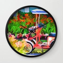 Surrey Bikes 1 Wall Clock