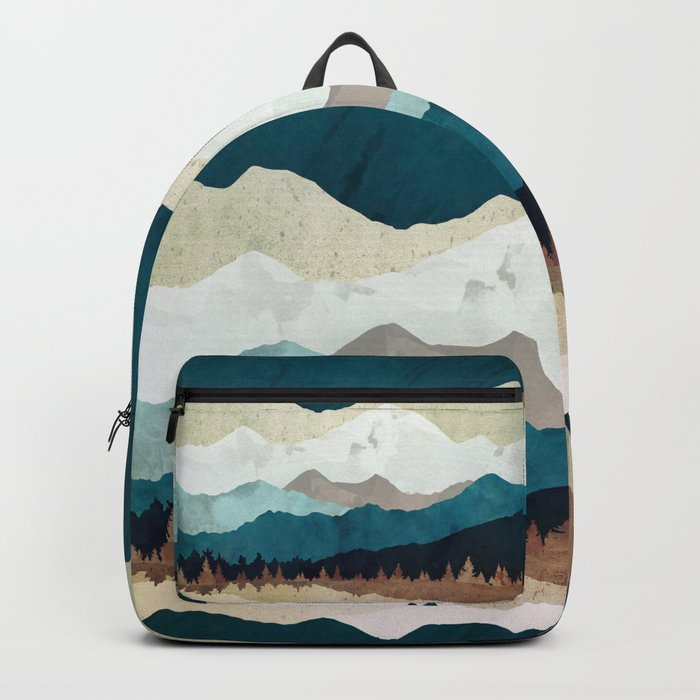 Fall Forest Night Backpack