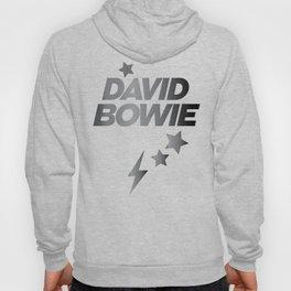 Glam Rock Bowie grey Hoody
