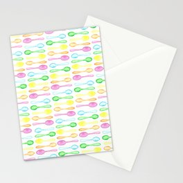 Watercolor Spoons! Stationery Cards