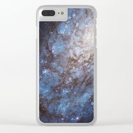 Galaxies NGC 4302 and NGC 4298 Clear iPhone Case