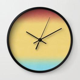 Austin Sunrise Ombre Wall Clock