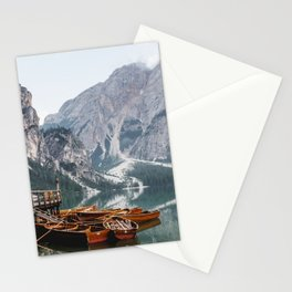 Day at the Mountain Lake Stationery Cards
