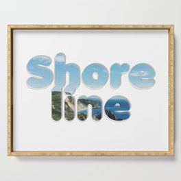 Shore line Serving Tray