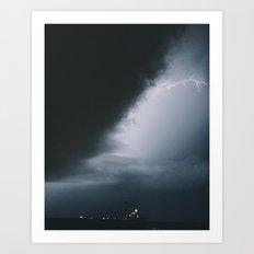 Midwestern Storm Art Print