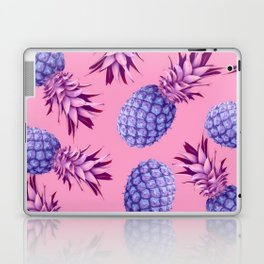 Violet pineapples Laptop & iPad Skin
