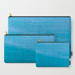 Abstract print in turquoise Carry-All Pouch