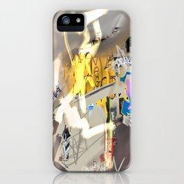 London Shoreditch graffiti iPhone Case