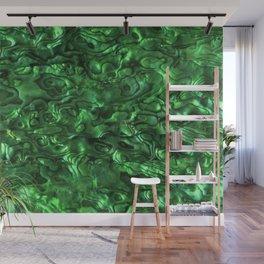 Abalone Shell | Paua Shell | Sea Shells | Patterns in Nature | Green Tint | Wall Mural