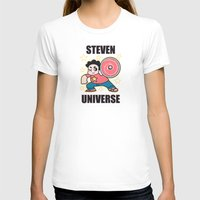 steven universe T-shirts featuring Steven by ZoeStanleyArts
