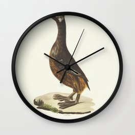 podiceps rolland L8 Wall Clock