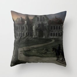 The Fall of the House of Usher Throw Pillow