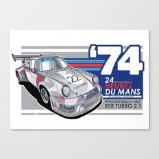 PORSCHE - 911 RSR GROUP S Canvas Print