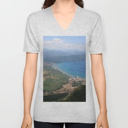 Akyaka and The Bay Of Gokova Photograph Unisex V-Neck