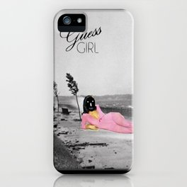 _GUESS GIRL iPhone Case
