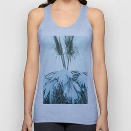 Palm and Snow Unisex Tank Top