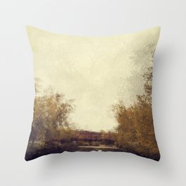 By The Riverside #1 Throw Pillow