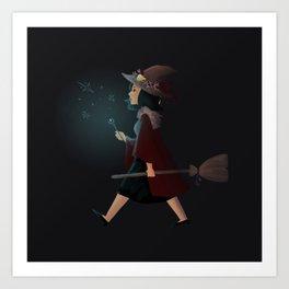 witchy regina Art Print