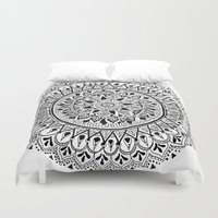 revolution Duvet Covers featuring Revolution by Sound of White Designs