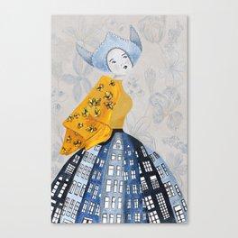Dutch Girl Canvas Print