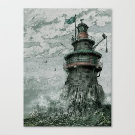Skeleton Key Lighthouse Canvas Print