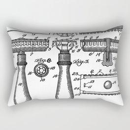 Gillette Patent 1904 Rectangular Pillow