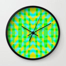 Sea Grass Yellow - Coral Reef Series 006 Wall Clock