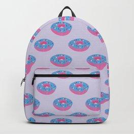Pastel Doughnut Heaven Pattern Backpack