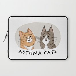 Asthma Cats Laptop Sleeve