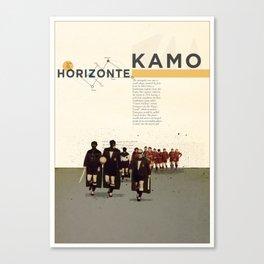 Kamo Canvas Print