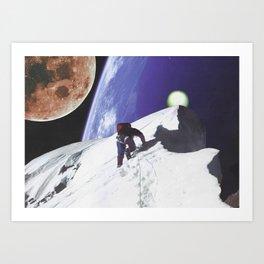 Nite Hike Art Print